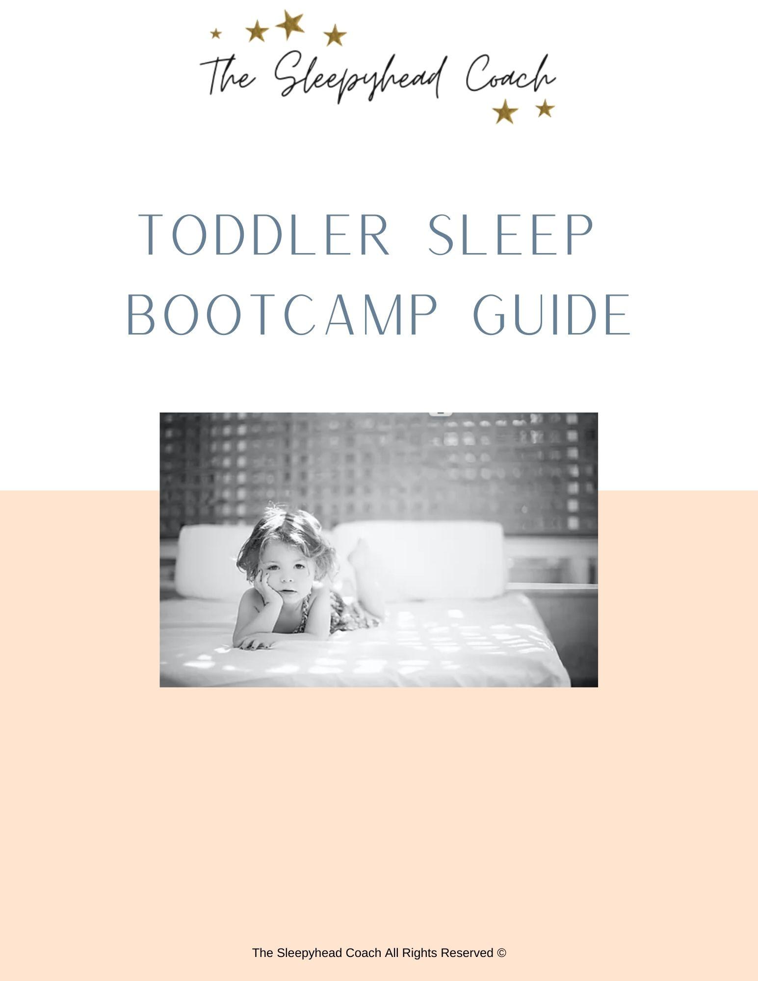 Toddler sleep guide